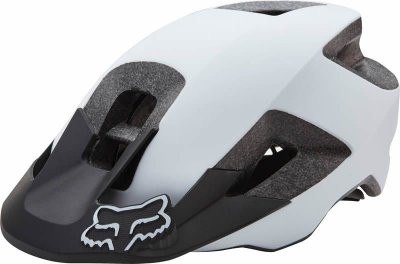 Capacete Fox Bike Ranger Branco e Preto Fosco