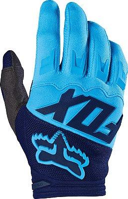Luva Fox MX Dirtpaw Race Azul