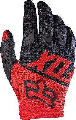Luva Fox MX Dirtpaw Race Vermelho