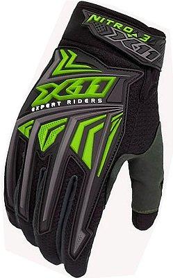 Luva X11 Nitro 3 Verde