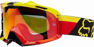 Óculos Fox MX Air SPC Ken Rocnez Signature Spark Vermelho