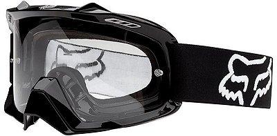 Óculos Fox MX Air SPC Youth Preto Fosco