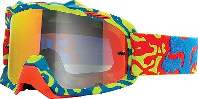 Óculos Fox MX Cauz Vermelho e Amarelo