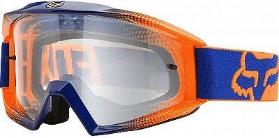 Óculos Fox MX Main Race Laranja e Azul