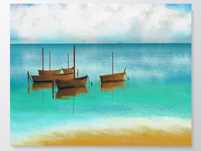 Quadro Canvas - Paisagem 2 -