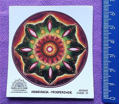 Mandala Abundância - Prosperidade