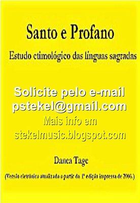 Santo & Profano – estudo etimológico das línguas sagradas