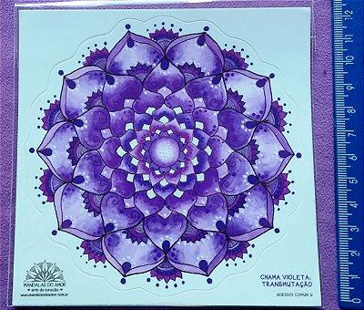 Chama Violeta - Transmutação