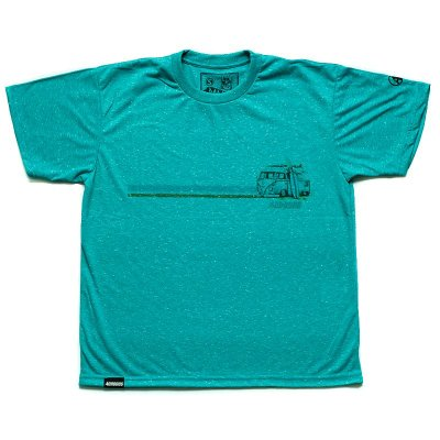 Camiseta Green Surf Kombi