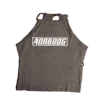 Halter Top Dabdog Logobox Chumbo
