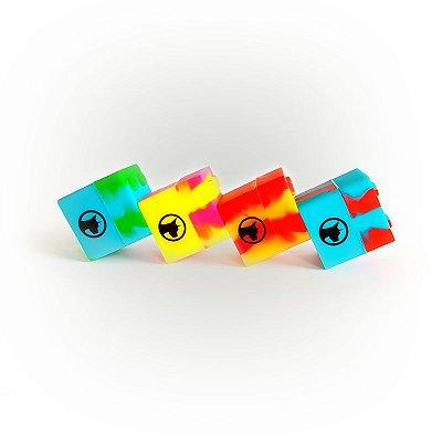 Pote de Silicone Lego Dabdog Quadrado 9ml