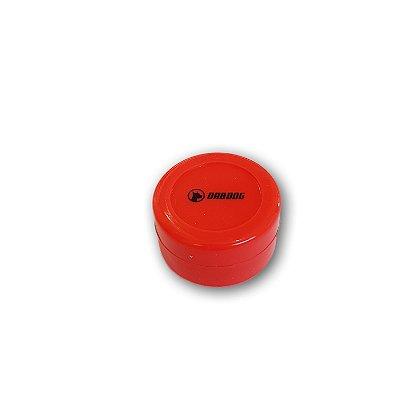 Pote de Silicone Dabdog Vermelho - 5 ml slick