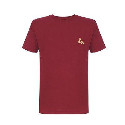 Camiseta Shatter Dog Vinho