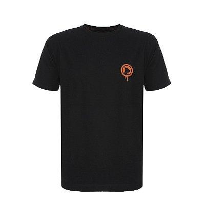Camiseta Bold Logo Laranja