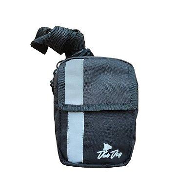 Shoulder Bag Slim Dabdog - Preta/Refletiva