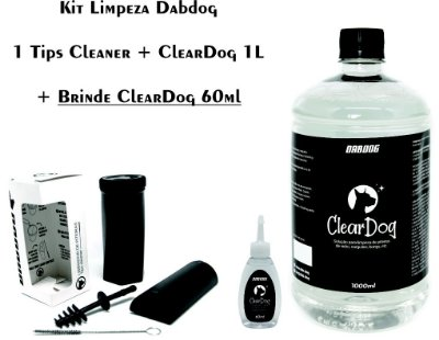Kit limpeza Tips Cleaner + Cleardog 1L