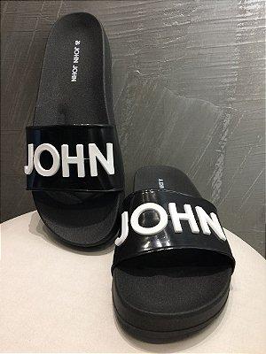 CHINELO FLAT JOHN JOHN BLACK JJ