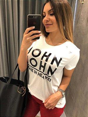 T-SHIRT JOHN JOHN LOGO JJ