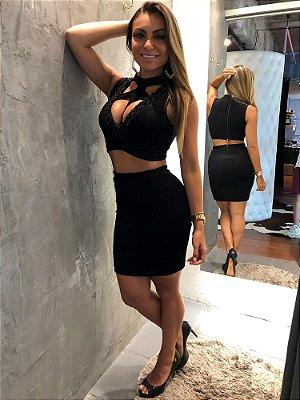 CONJUNTO BORDADO MXG