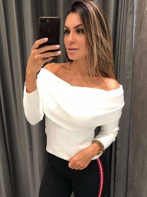 BLUSA CROPPED OMBRO A OMBRO MyFT