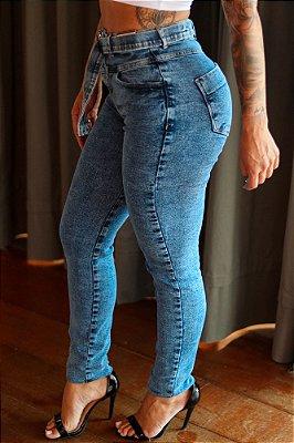 Calça Skinny Alessandra 28 Marmoriza GB