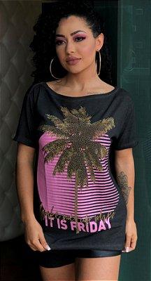 T-Shirt De Fit Descolado Myft