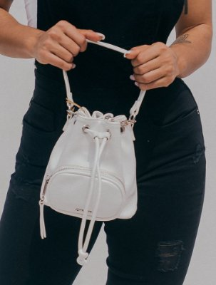 Pocket Satchel JJ New White John John
