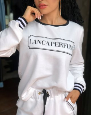 Blusa Moletom Comfort Lança Perfume