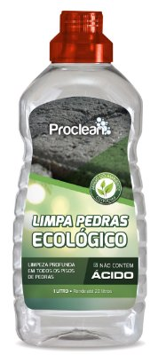 LIMPA PEDRAS ECOLÓGICO 1L