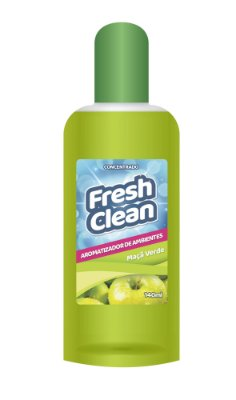 FRESH CLEAN AROMATIZADOR CONCENTRADO MAÇÃ VERDE 140ML
