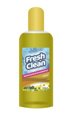 FRESH CLEAN AROMATIZADOR CONCENTRADO TALCO 140ML