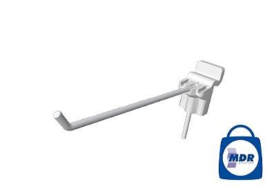 Gancho Simples para Canaletado com Encaixe Plástico / Kit com 50 unidades