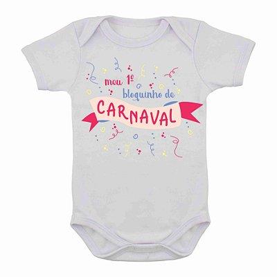 Body de Carnaval Meu primeiro Bloquinho
