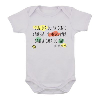 Body de Bebê Cara do Pai