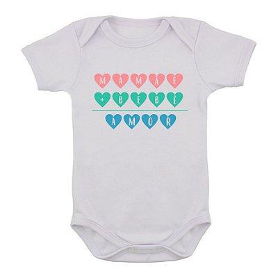 Body de Bebê Matemática do Amor
