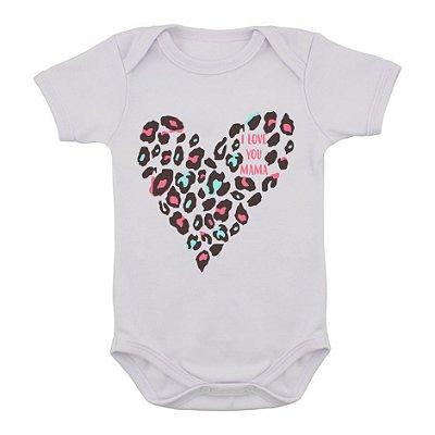 Body de Bebê Love Mama