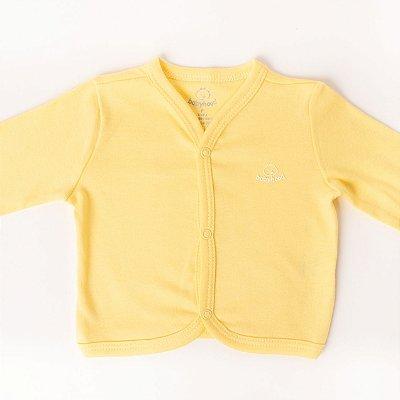 Casaco de Bebê Amarelo