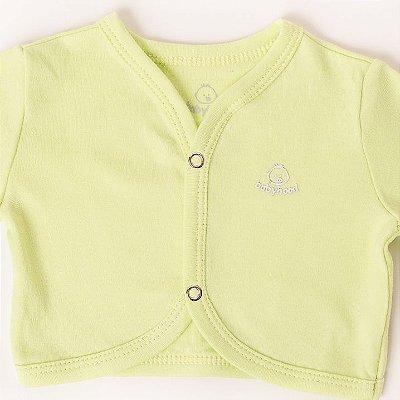 Casaco de Bebê Verde Claro