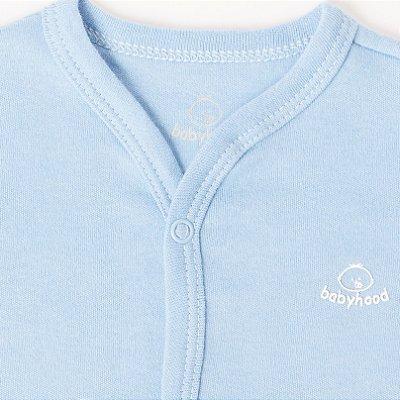 Casaco de Bebê Azul Claro