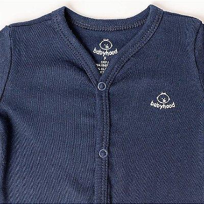 Casaco de Bebê Azul Marinho