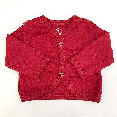 Casaco de Bebê Vermelho