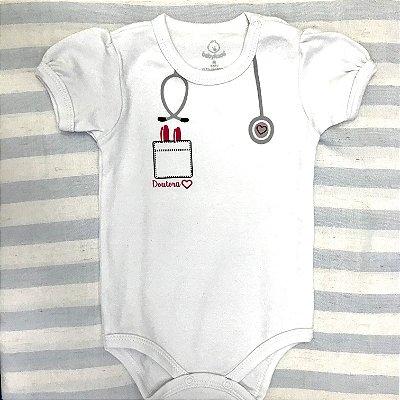Body de Bebê Doutora
