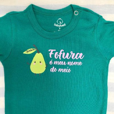Body de Bebê Fofura