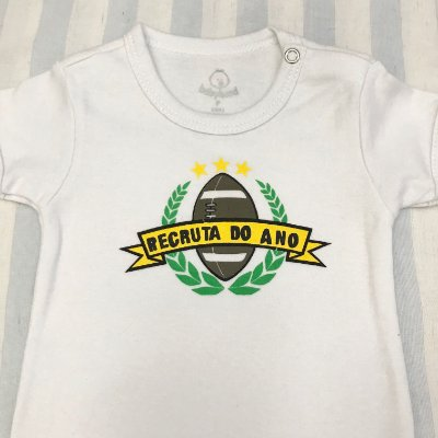 Body de Bebê Recruta do Ano