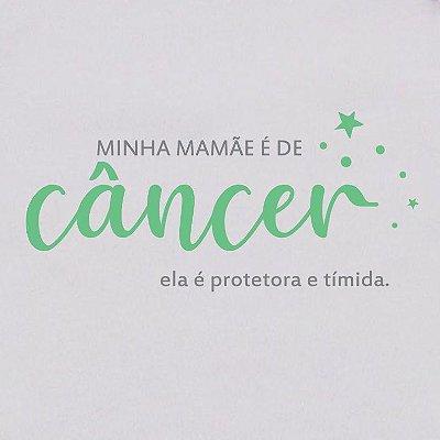 Body de Bebê Mamãe de Câncer