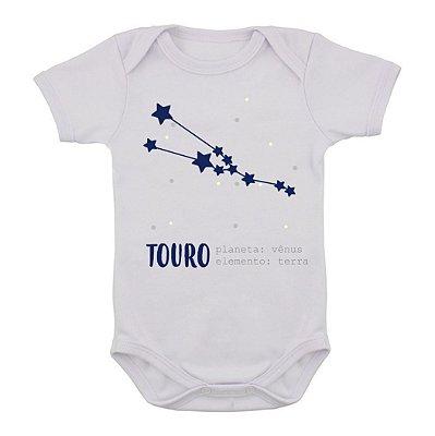 Body de Bebê Constelação - Touro