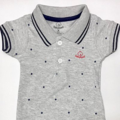 Body Gola Polo Cinza