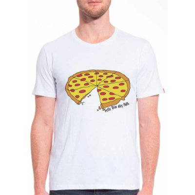 Camiseta Pizza Adulto