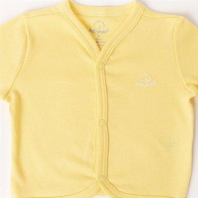 Kit com 3 Casacos Unissex - Amarelo, Marinho e Jeans