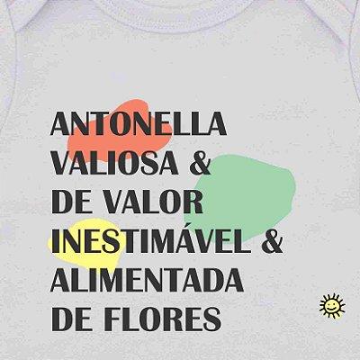Camiseta Infantil Significado Nome Palavras